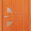 Межкомнатная дверь ПВХ Овал белёный дуб 1