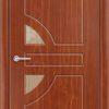 Межкомнатная дверь ПВХ Премиум темный орех 2
