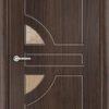 Межкомнатная дверь ПВХ Ниагара дуб шоколадный 2