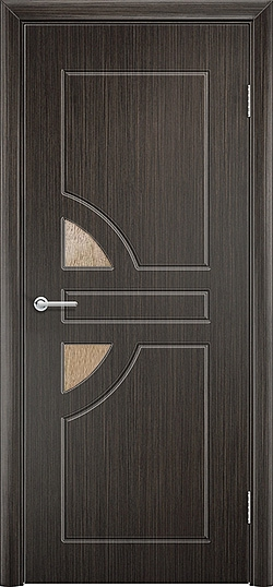 Межкомнатная дверь ПВХ Елена 2 венге 3