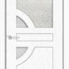 Межкомнатная дверь ПВХ Водопад венге патина 1