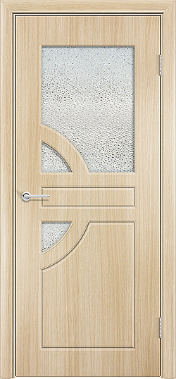 Межкомнатная дверь ПВХ Елена 3 белёный дуб 3