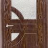 Межкомнатная дверь ПВХ Стрела венге 2