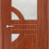 Межкомнатная дверь ПВХ Элегия белая патина 1