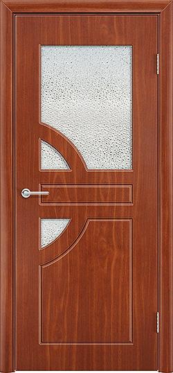 Межкомнатная дверь ПВХ Елена 3 итальянский орех 3