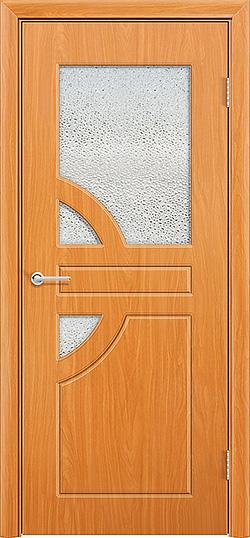 Межкомнатная дверь ПВХ Елена 3 миланский орех 3