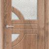 Межкомнатная дверь ПВХ Глория белая патина 2