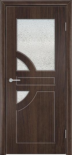 Межкомнатная дверь ПВХ Елена 3 темный орех 3