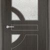 Межкомнатная дверь ПВХ Латино венге патина 1