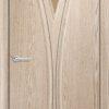 Межкомнатная дверь ПВХ Лилия груша 1