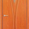 Межкомнатная дверь ПВХ Натали дуб шоколадный 1