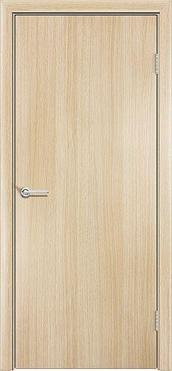 Межкомнатная дверь ПВХ Гладкое белёный дуб 3