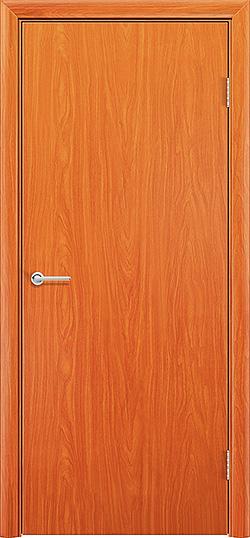 Межкомнатная дверь ПВХ Гладкое груша 3