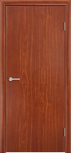 Межкомнатная дверь ПВХ Гладкое итальянский орех 3