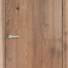 Межкомнатная дверь ПВХ Гладкое светлый орех 1