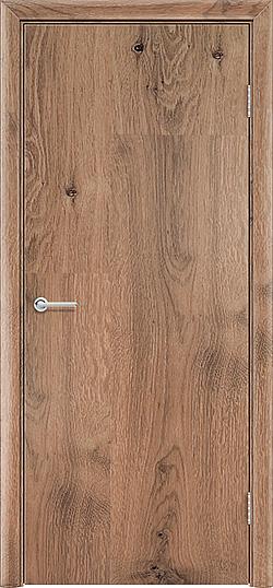 Межкомнатная дверь ПВХ Гладкое светлый орех 3