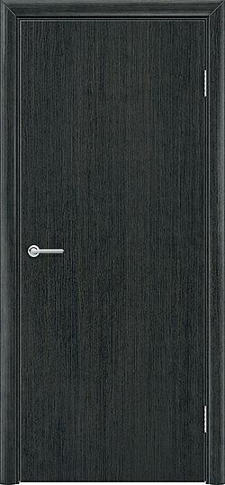 Межкомнатная дверь ПВХ Гладкое венге патина 3