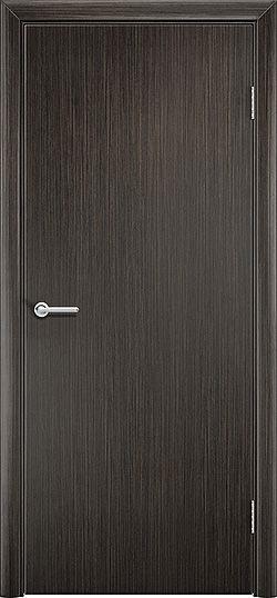 Межкомнатная дверь ПВХ Гладкое венге 3