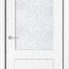 Межкомнатная дверь ПВХ Элегия светлый орех 1