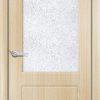 Межкомнатная дверь ПВХ Ниагара миланский орех 1