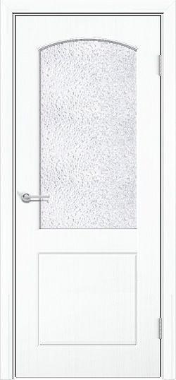 Межкомнатная дверь ПВХ Кристина белый 3