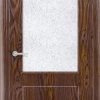 Межкомнатная дверь ПВХ Престиж светлый орех 2