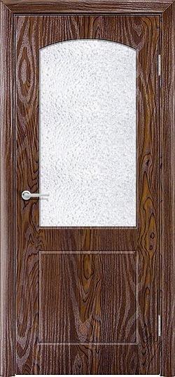 Межкомнатная дверь ПВХ Кристина дуб шоколадный 3