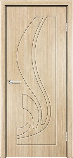 Межкомнатная дверь ПВХ Ладья белёный дуб 3