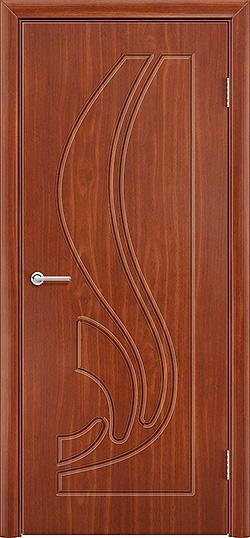 Межкомнатная дверь ПВХ Ладья итальянский орех 3