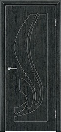 Межкомнатная дверь ПВХ Ладья венге патина 3