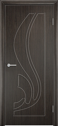 Межкомнатная дверь ПВХ Ладья венге 3