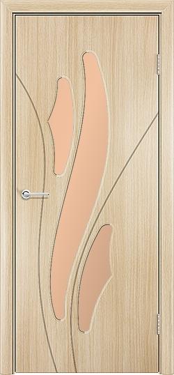 Межкомнатная дверь ПВХ Латино белёный дуб 3