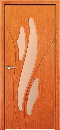 Межкомнатная дверь ПВХ Латино груша 3