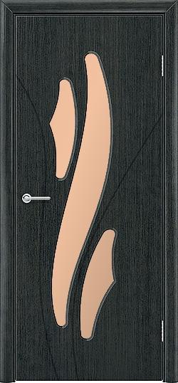 Межкомнатная дверь ПВХ Латино венге патина 3