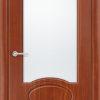 Межкомнатная дверь ПВХ Марсель светлый орех 1