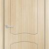 Межкомнатная дверь ПВХ Овал миланский орех 1