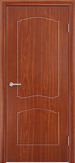 Межкомнатная дверь ПВХ Лилия итальянский орех 3