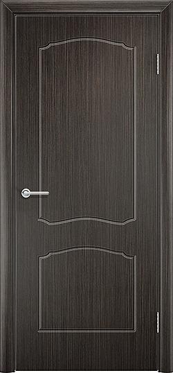 Межкомнатная дверь ПВХ Лилия венге 3