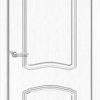 Межкомнатная дверь ПВХ Лилия 2 белая патина 2