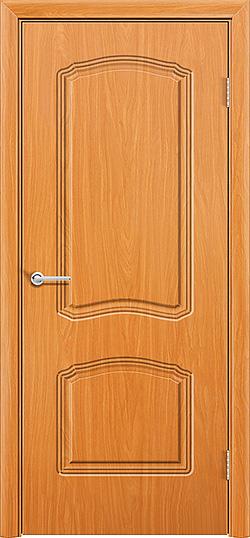 Межкомнатная дверь ПВХ Лилия 2 миланский орех 3