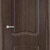 Межкомнатная дверь ПВХ Гладкое итальянский орех 1