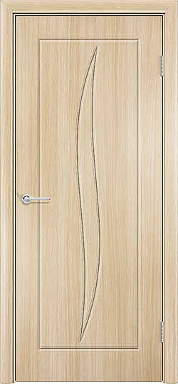 Межкомнатная дверь ПВХ Лион белёный дуб 3