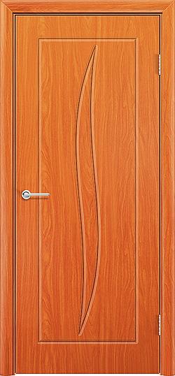 Межкомнатная дверь ПВХ Лион груша 3