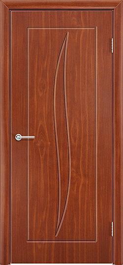 Межкомнатная дверь ПВХ Лион итальянский орех 3