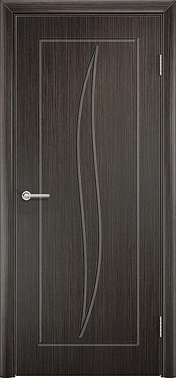 Межкомнатная дверь ПВХ Лион венге 3