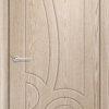 Межкомнатная дверь ПВХ Лилия 2 миланский орех 2