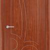 Межкомнатная дверь ПВХ Юлия белая патина 2