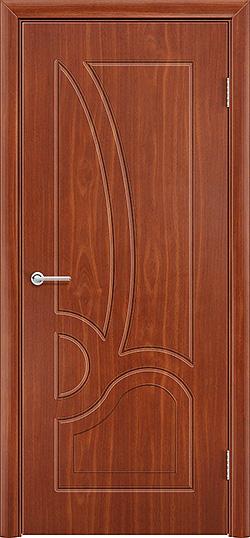 Межкомнатная дверь ПВХ Марсель итальянский орех 3