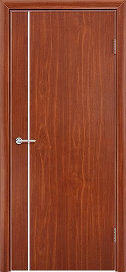 Межкомнатная дверь ПВХ Милано итальянский орех 3