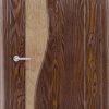 Межкомнатная дверь ПВХ Флора груша 2
